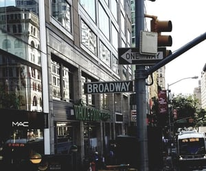 new york, aesthetic, and broadway image