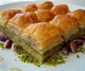 arabian, arabic, and baklava image