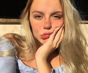 girl, beautiful, and model image