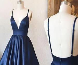 v-neck homecoming dress image
