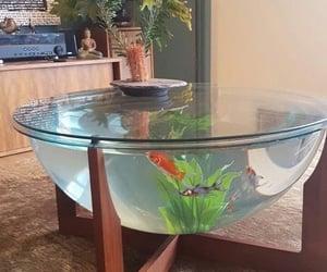 aquarium, beautiful, and danish design fish tank image