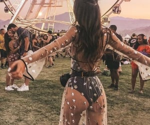 festival, coachella, and fashion image