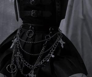 dark, goth, and girls image