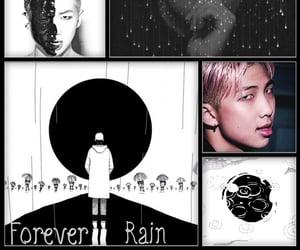 bts, forever rain, and wallpaper image
