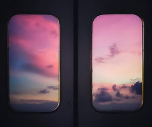 aesthetic, air, and clouds image