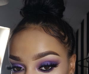 eyebrows, eyes, and face image