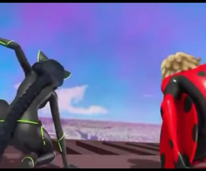 Adrien, lady b, and mr. bug image