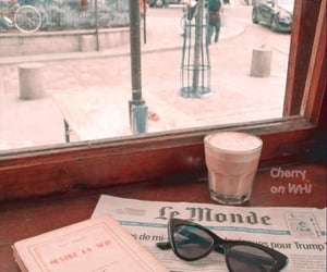 aesthetic, coffee, and headers image