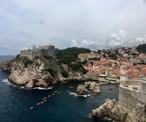 adriatic sea, Croatia, and dubrovnik image