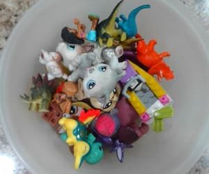 dinosaurs, lego, and lps image