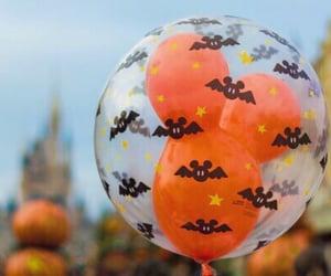 Halloween, disney, and balloons image