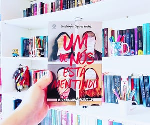 book, one of us is next, and books image