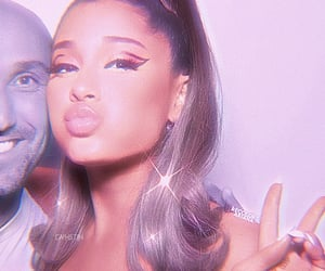 aesthetic, theme, and arianagrandesparkle image