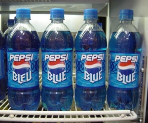 Pepsi, aesthetic, and blue image