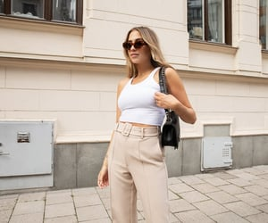 beige, blogger, and white image