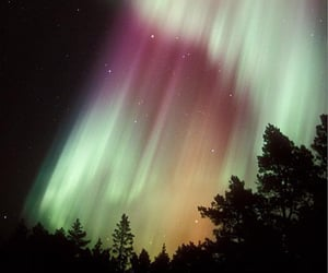 dreamy, northern lights, and magic image