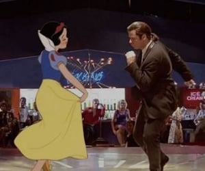 disney, pulp fiction, and snow white image
