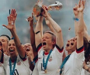 football, uswnt, and womens world cup image