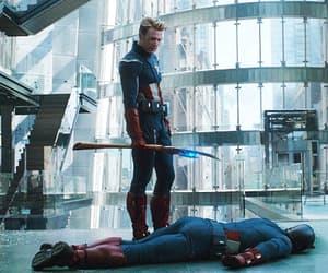 captain america, endgame, and Avengers image