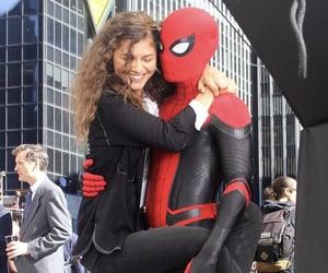 spiderman, Marvel, and zendaya image