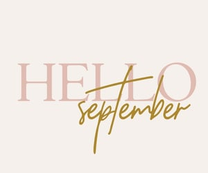 fall fashion, quote, and September image