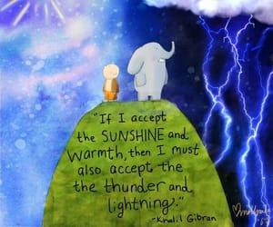 accept, rain, and sun image