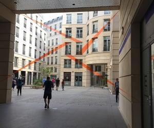 art, orange, and paris image