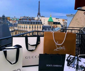 gucci, luxury, and paris image