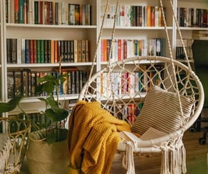 cozy, home, and book image