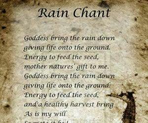 chant, elements, and rain image