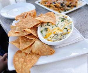 food, nachos, and yummy image