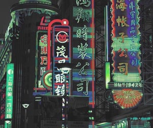 neon, aesthetic, and city image