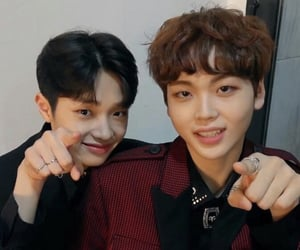 hyungjun, x1, and dongpyo image