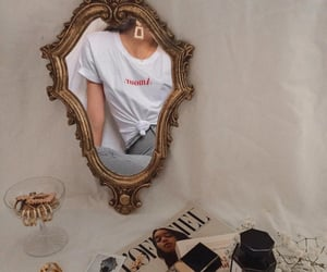 fashion, aesthetic, and mirror image