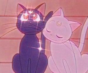 anime, luna, and artemis image