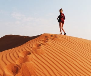 adventure, united arab emirates, and desert image