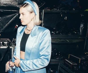 beautiful, blue, and anne-marie image