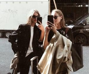 fashion, girl, and model image