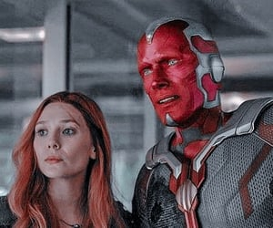 Avengers, Marvel, and vision image