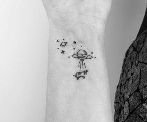 tattoo, arm, and stars image