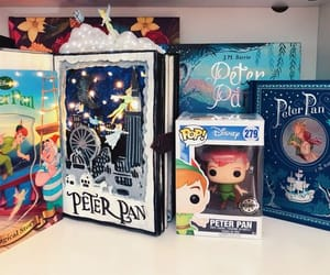 disney peter pan and funko pop collection image