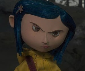 icons, profile icon, and coraline image