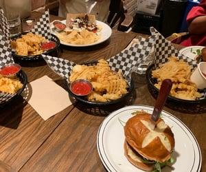 food, montreal, and pub image