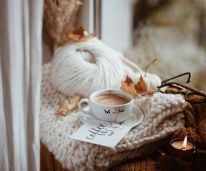 autumn, coffee, and candle image