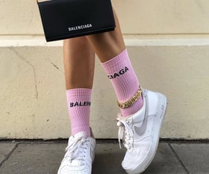 fashion, Balenciaga, and girl image