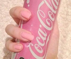 coca-cola, pink, and cocacola image