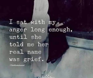 anger, grief, and quote image