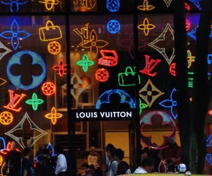 Louis Vuitton, alternative, and fashion image