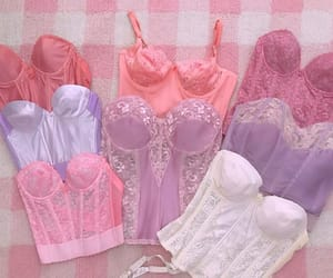 aesthetic, angelic pretty, and bustier image