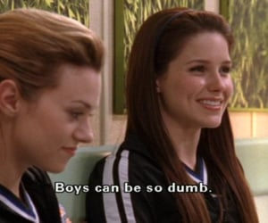 boy, one tree hill, and dumb image